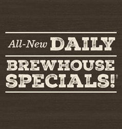 Daily Brewhouse Specials